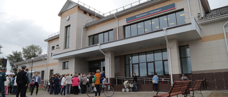 Вокзал Емва