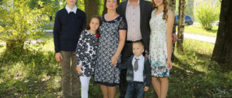 В семье Евтиховых, Нелли Владимировны и Сергея Сергеевича, воспитываются пятеро детей