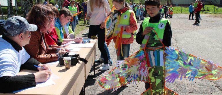 фестиваль воздушных змеев в Емве