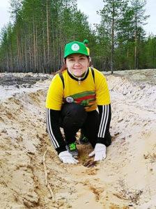 день посадки леса в Княжпогостском районе