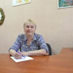 Любовь Сокерина - старшая медицинская сестра в Ачимском саду-яслях г. Емва