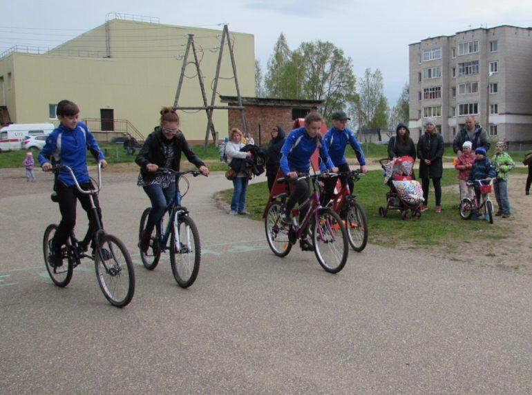 велопробег в г. Емва