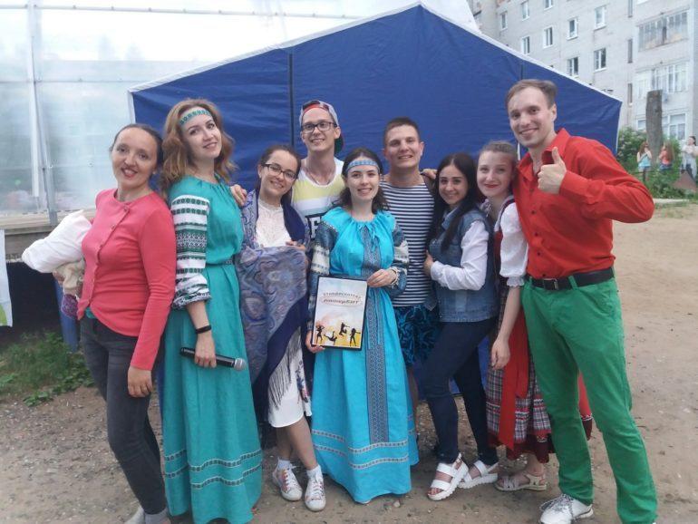 Праздник молодежи в Емве