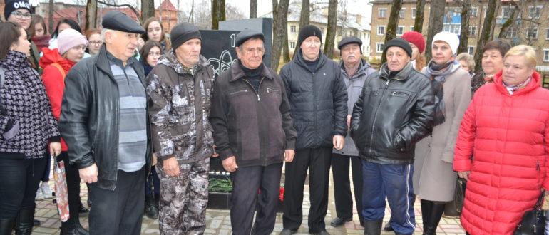 памятник участникам Чернобыльской АЭС в Емве