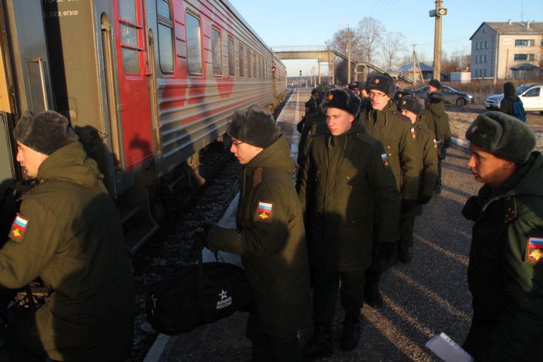 ОСЕННИЙ призыв начался в Республи- ке Коми