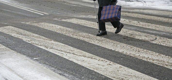 Пешеход и дорога
