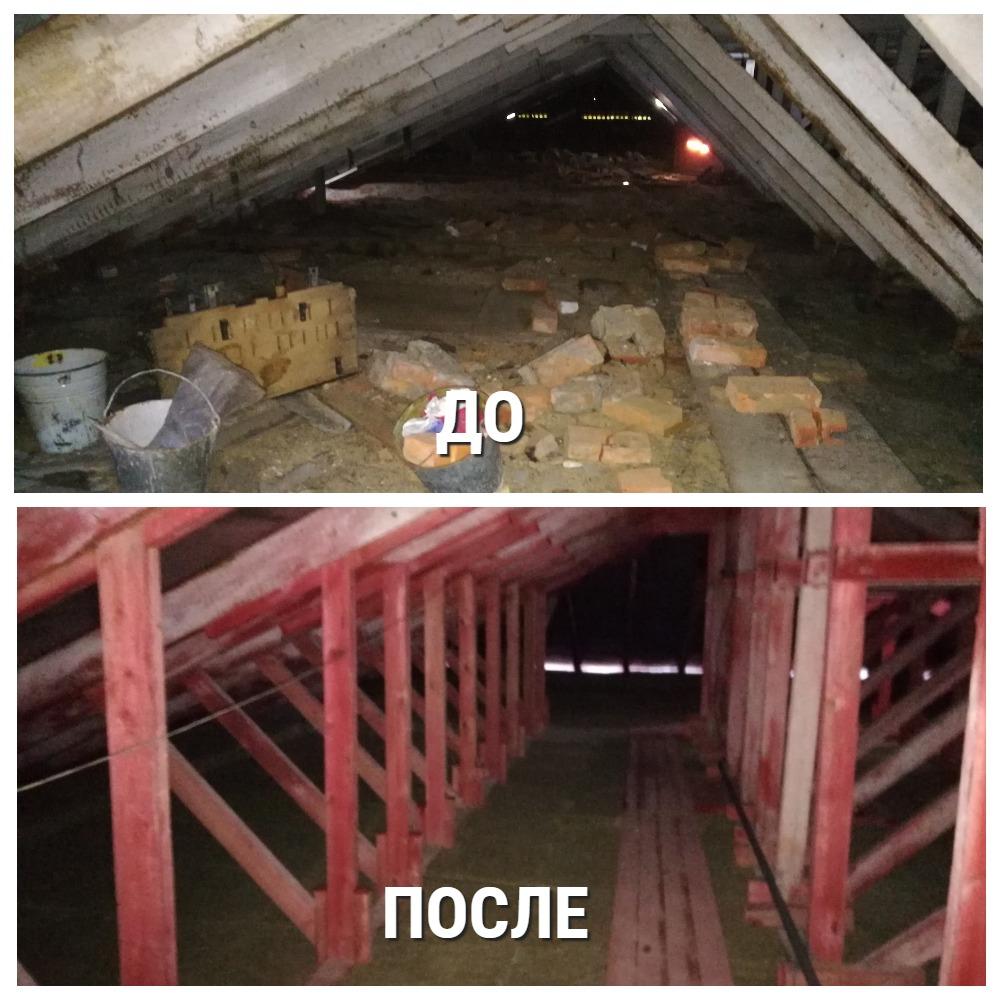 В Емве отремонтировали крышу в доме, которому скоро исполнится полвека2