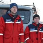 В ЮЖНЫХ электрических се- тях Княжпогостского района трудятся мужественные люди. Среди них молодежь - Иван Гер- галов и Артем Беляков