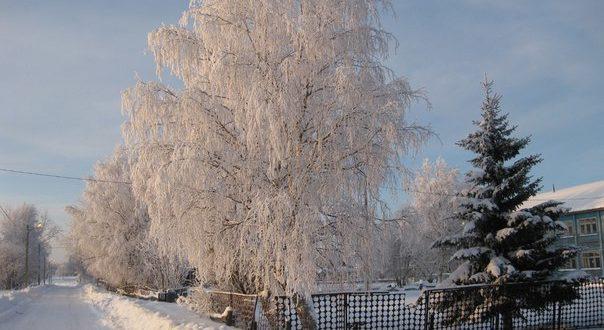 Поселок Ветью, Княжпогостский район. Фото Елены Дубовой.