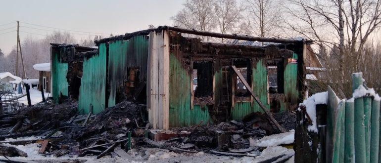 20 января в Княжпогостском районе произошел пожар