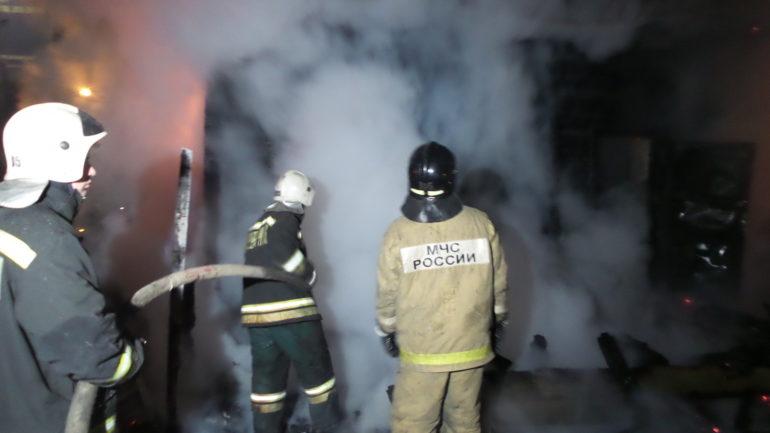 пожар в Емве
