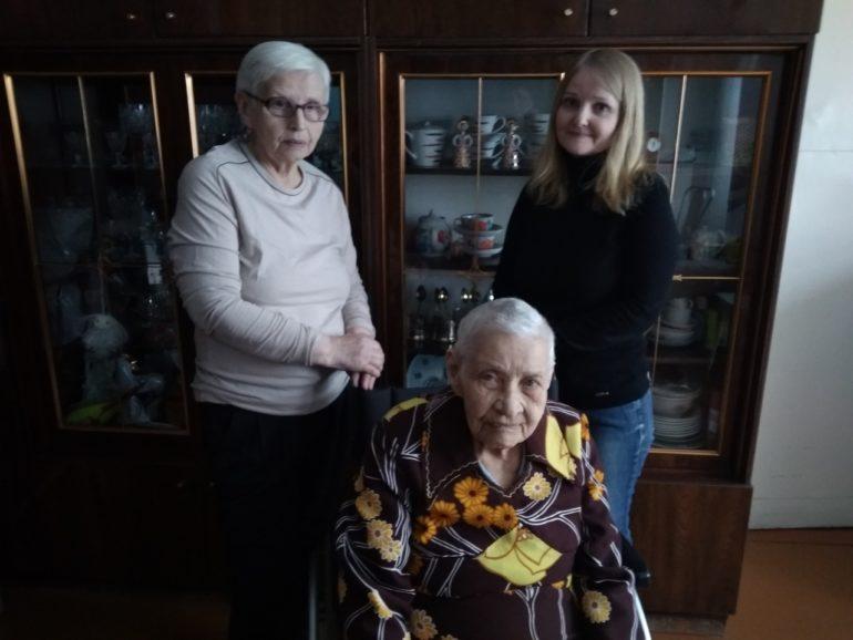 8 февраля отметила 90-летний юбилей труженица тыла Тама- ра Андреевна Туева