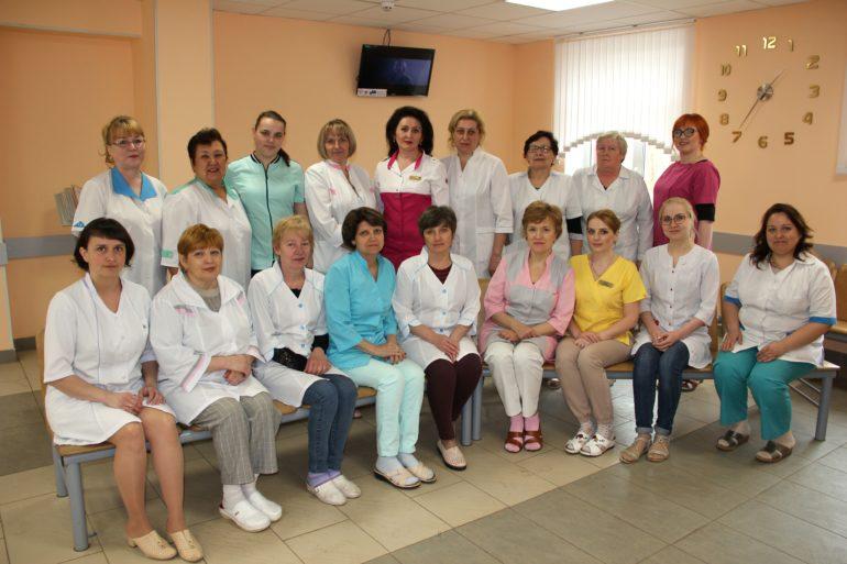 медсестры поликлиники в емве