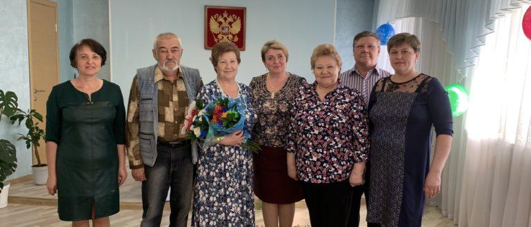 чествовал юбиляров семейной жизни - Анатолия Николаевича и Елену Николаевну Коняевых.