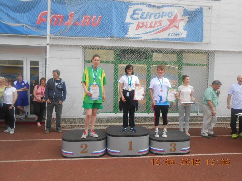 Анна Курлянчик завоевала две бронзы - в дартс и легкой атлетике.