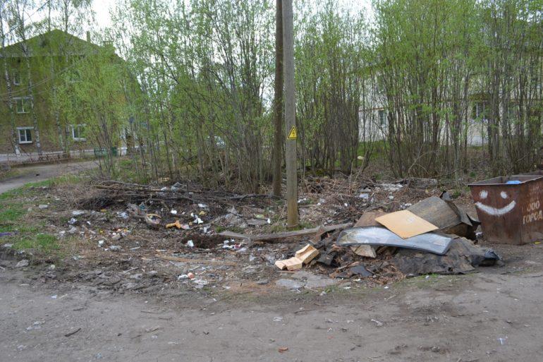 мусор в Емве