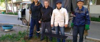 Помощь горожанам оказал и депутат Совета городского поселения «Емва» Александр Лейман.