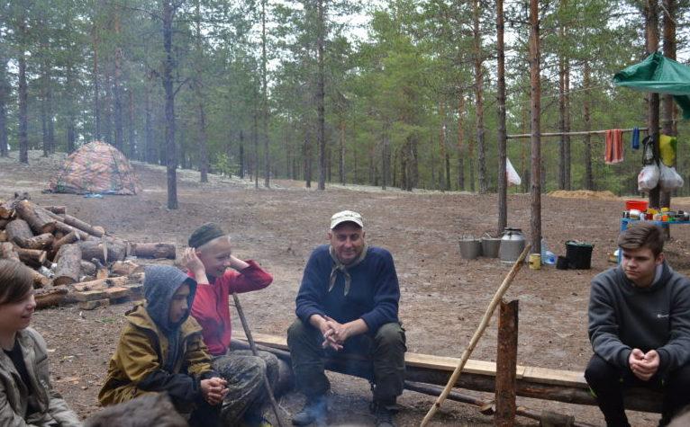 """лагерь """"Бусидо"""".Николай Булгаков"""