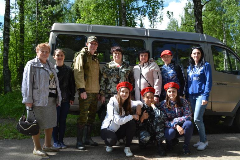 На прошлой неделе состоялась выездная поисковая экспедиция районного музея в Синдор.