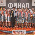 Евгений Морозов и его баскетбольная команда, г.Емва