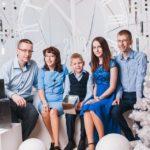 семья Бобровых