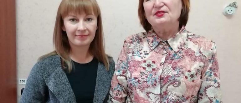 Елена Кортелева и ТатЬяна Метлушко