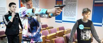 3. В колонии-поселении № 51 в г. Емве для детей сотрудников провели конкурс «Юный страж закона»