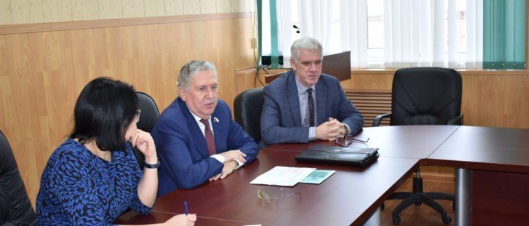 Княжпогостский район посетил депутат Государственной Думы Федерального Собрания РФ Иван Медведев