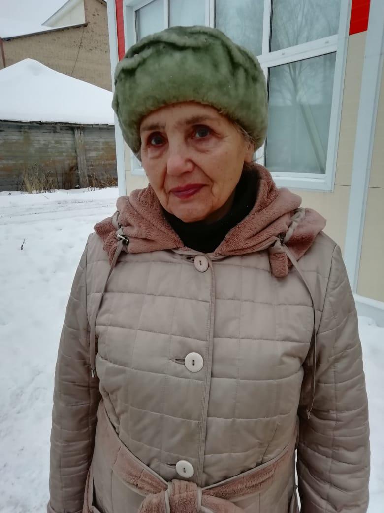 -Нина Трофимовна ЕФИМОВА, п. Мещура