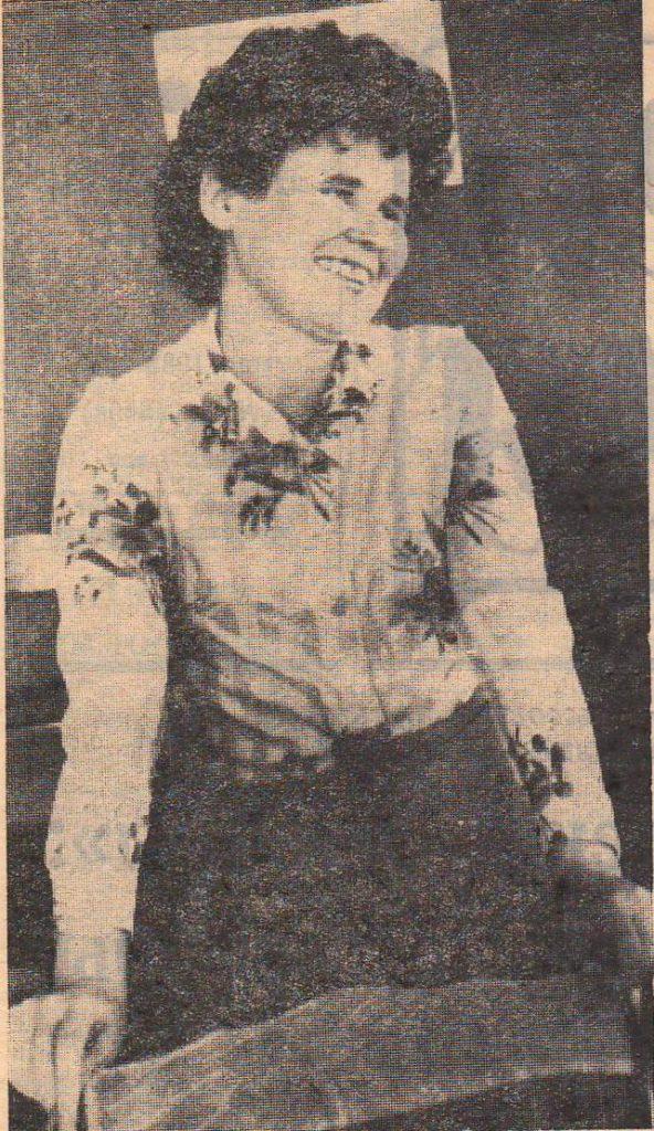 Сенюкова Галина Николаевна, бригадир бр. Онежье, медаль за преобразование Нечерноземья,1984г