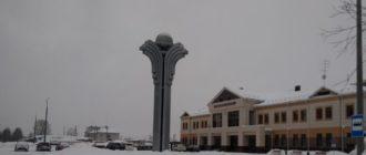 вокзал (зима)